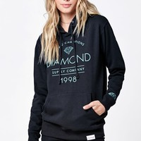 Diamond Supply Co Craftsman Pullover Hoodie - Womens Hoodie - Black