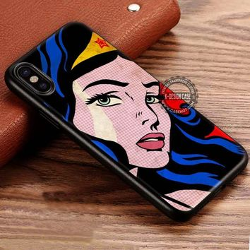 Wonder Woman DC iPhone X 8 7 Plus 6s Cases Samsung Galaxy S8 Plus S7 edge NOTE 8 Covers #iphoneX #SamsungS8