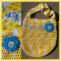 Tote- Yellow and Blue Birds