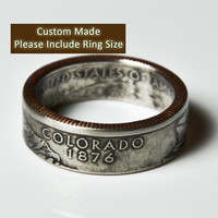 Colorado Quarter Ring