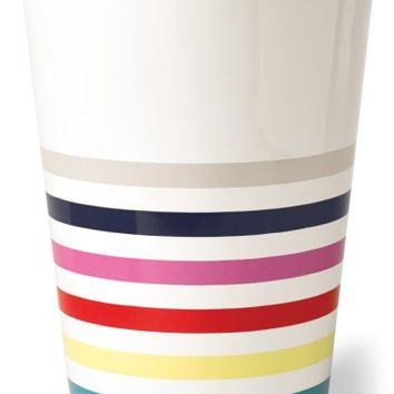 kate spade new york candy stripe wastebasket | Nordstrom