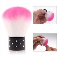 1Pc Nail Art Dust Remover Clean Brush Plastic Nail Dust Brush Nail Art Accessories Makeup Accessories Manicure Pedicure Tools