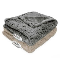 Therapedic® Faux Fur Heated Throw