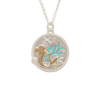 Disney The Little Mermaid Ariel Silhouette Charm Necklace
