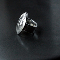 Fine Silver Ring, Band Ring, Classic design,
