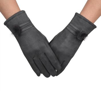 2017 FASHION Women Gloves Winter Warm Soft Wrist Gloves Mittens Y90730