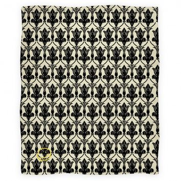 Sherlock Wallpaper Blanket