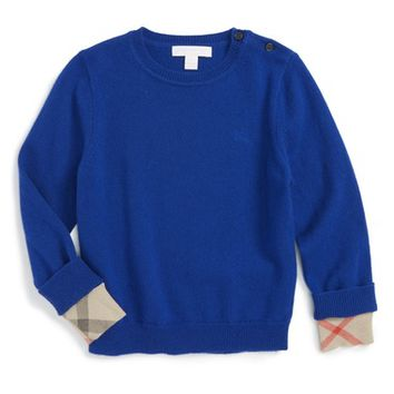 Burberry Gethin Cashmere Sweater (Baby Boys) | Nordstrom