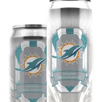 Duckhouse NFL Miami Dolphins 16.9 Ounce Thermocan