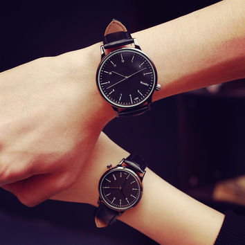Designer's Awesome Great Deal New Arrival Gift Trendy Good Price Korean Stylish Fashion Simple Design Chain Casual Vintage Couple Quartz Watch [6045926337]