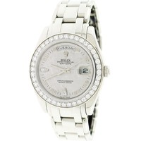 Rolex Platinum Day-Date Meteorite Diamond Dial Special Edition Watch 18946 $Box&Papers (Certified Pre-owned)