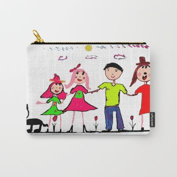 Stand by me Carry-All Pouch by Azima