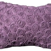 One Kings Lane - Kids' Corner - Nourison Roses Pillow, Lilac