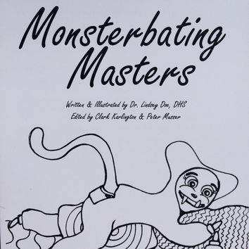 Monsterbating Masters Coloring Book
