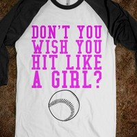 DON'T YOU WISH YOU HIT LIKE A GIRL? - glamfoxx.com