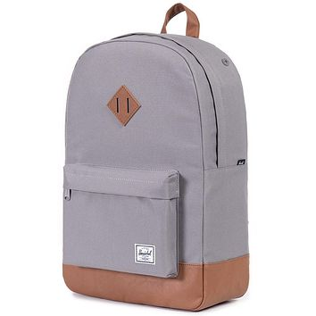 4b34eb6eced Heritage Backpack in Grey by Herschel Supply Co.