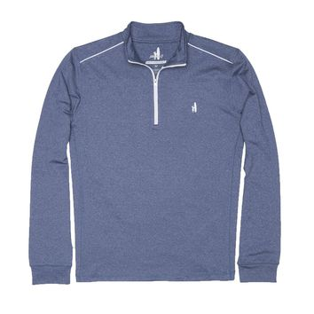 Lammie 1/4 Zip Prep-Formance Pullover in Lake by Johnnie-O