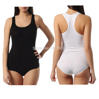 Thin Section Women Solid Stretch Body Soft Jumpsuit  Sexy Playsuit  Leotard Bodysuit Tops  Women Leotard Dance Clothing 0013
