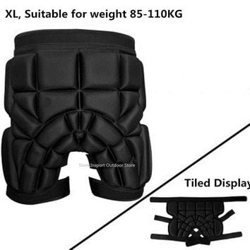 Men Women Outdoor Sports Skiing Shorts Protective Hip Bottom Padded Amour Ski Snowboard Protection Pad