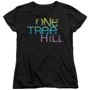 One Tree Hill - Color Blend Logo Short Sleeve Women's Tee