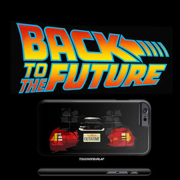 Back to the Future Car Air Mag Apple IPhone 4 5 5c 6 6s Plus Galaxy Case Sneaker Head