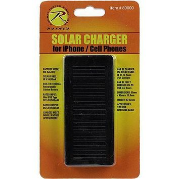 Solar Charger for Cell Phones / I-Phones