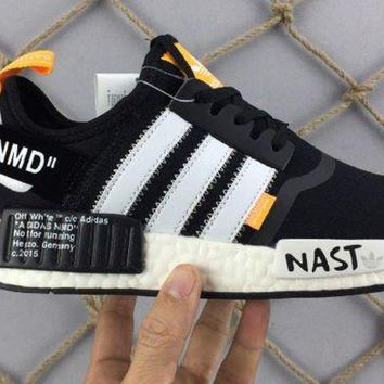 ONETOW Mens Adidas Custom bianco White X Off NMD