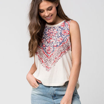 BILLABONG My Own Womens Muscle Tee | Graphic Tees