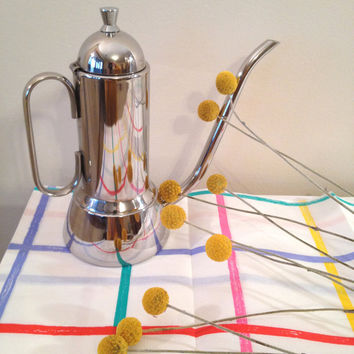 Vintage Striped Paper Tablecloth Never Been Used by ModernFiction