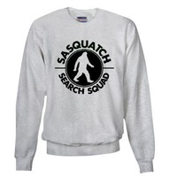 SASQUATCH SEARCH SQUAD Sweatshirt on CafePress.com
