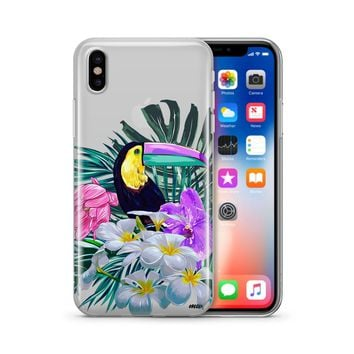 Toucan - Clear TPU Case Cover