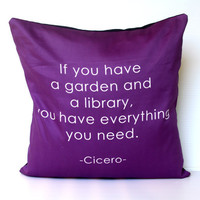 CICERO If you have a garden and a library in by mybeardedpigeon