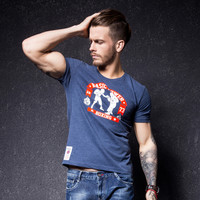 Men's Fashion Cotton Casual Short Sleeve T-shirts [10488641475]