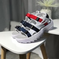 """FILA Disruptor 2"" Women Summer Casual Fashion Velcro Thick Bottom Sandals Sneakers"