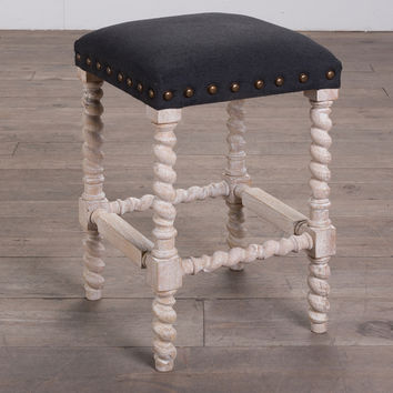 Chauncey Counter Stool - Charcoal