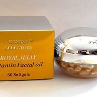 Cosmo Selection Royal Jelly Vitamin Facial Oil 60 Softgels