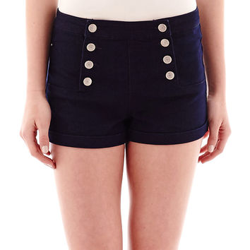 Almost Famous High Waist Shorts 1 - JCPenney