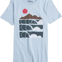 SWELL LINE UP SS TEE