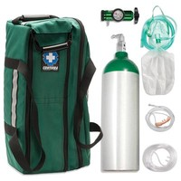 Aluminum Alloy Oxygen Systems - Jumbo D (647L) | www.chinookmed.com