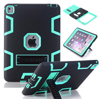 "WeFor Case For iPad Pro 9.7""/12.9"" Cover High Impact Resistant Hybrid Three Layer Heavy Duty Armor Defender Full Body Protector"