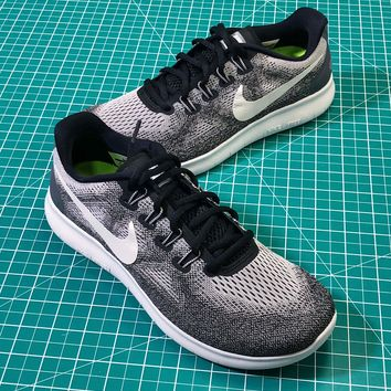 Nike Air Flywire Free Grey Sport Running Shoes - Best Online Sale