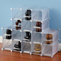 The Configurable Cubic Shoe Rack - Hammacher Schlemmer