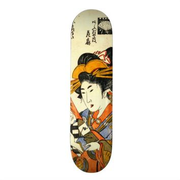 Courtesan Hanaogi 1801 Skateboard