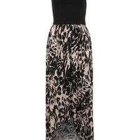 Smudge Animal Maxi Dress - Holiday Shop - Clothing - Miss Selfridge