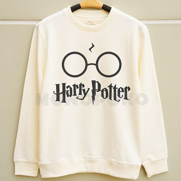 S M L -- Pott Head TShirts Harry Potter TShirts Harry Potter Sweatshirt Jumpers Long Sleeve Sweater Unisex TShirts Women TShirts Men TShirts