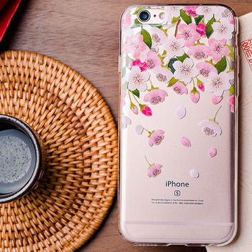 Original Floral iPhone 5se 5s 6 6s Plus Case Cover Gift 314