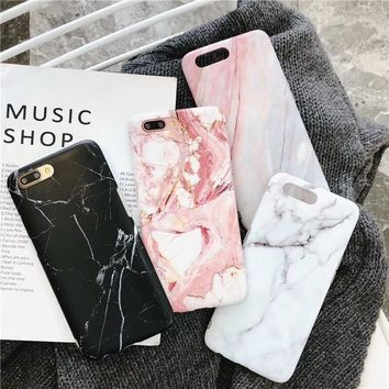 Classic White Marble Phone Case
