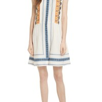 Tory Burch Adriana Sleeveless Shirtdress | Nordstrom