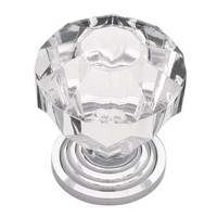 Liberty, Design Facets 1-1/4 in. Acrylic Faceted Cabinet Hardware Knob, P30122-CHC-C at The Home Depot - Mobile