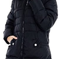 Women's Down Coat With Fur Hood Parka